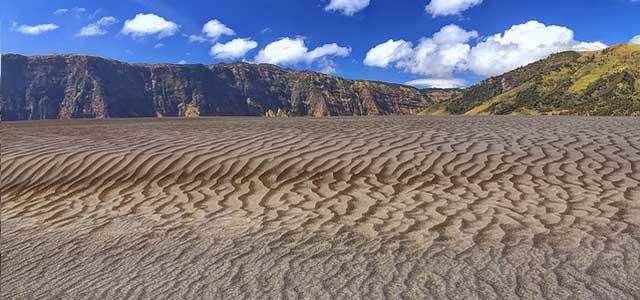 Foto pasir berbisik di Gunung Bromo