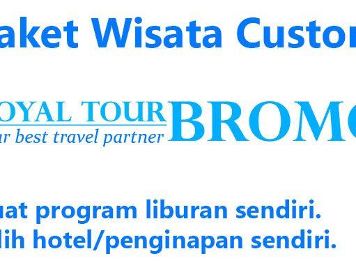 Paket wisata Custom