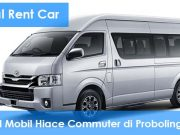 Rental Mobil Hiace Commuter di Probolinggo