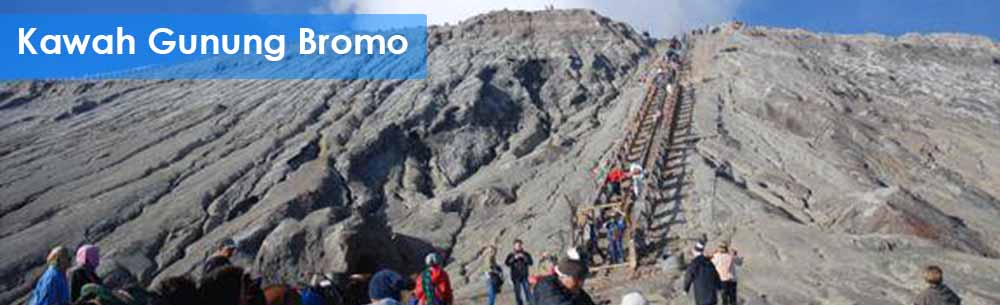 paket wisata kawah Gunung Bromo