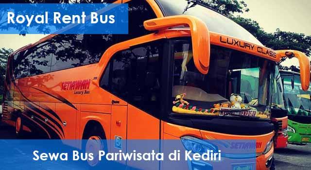 Daftar HargaSewa Bus Pariwisata di Kediri Murah Terbaik