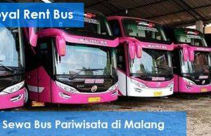 Daftar Harga Sewa Bus Pariwisata di Malang Terbaru Murah