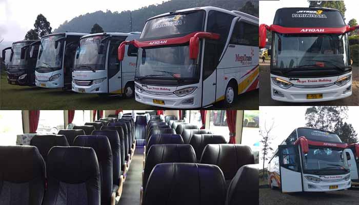 Sewa Bus pariwisata Bandung Murah terbaik Megatrans Holiday