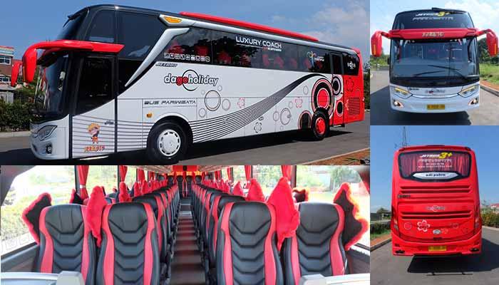 Sewa Bus pariwisata Bandung Murah terbaik terbaru Dago Holiday