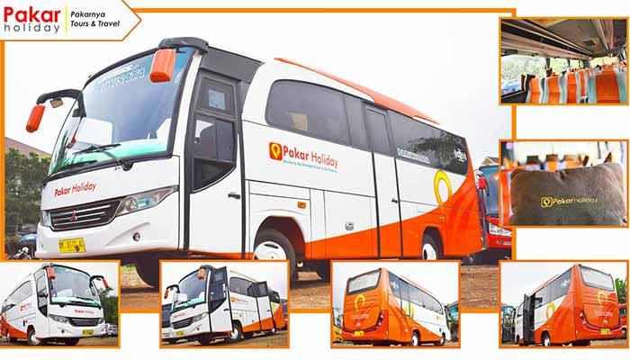 Sewa bus pariwisata Bandung Murah terbaik Pakar Holiday
